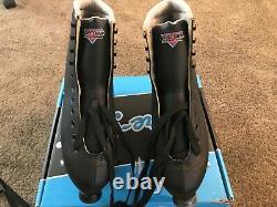 Sure Grip Men's size 12 Black Fame Roller Skate's New