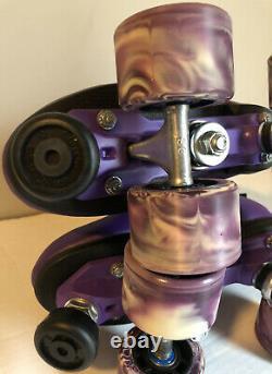 Sure Grip Purple Rebel Roller Skates Size Mens 6 Womens 7 Never Worn
