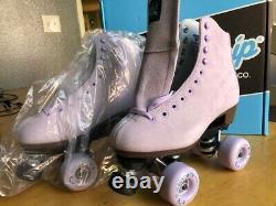 Sure Grip Quad Outdoor Skates Boardwalk Lavender. Skate size 6, women's shoe 7