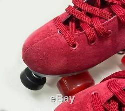 Sure-Grip Quad Roller Skates Fame Boardwalk SIZE 8 Only (Refurbished)