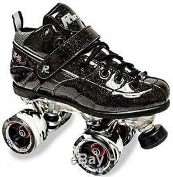 Sure Grip Rock GT-50 Sparkle Speed Roller Skate Black Men Size 4-9