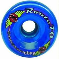 Sure-Grip Route Quad Roller Skate Wheels 70mm 78A Outdoor