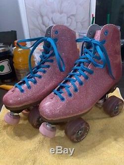 Sure grip star dust roller skates size 7
