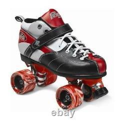 SureGrip Rock Expression Red Size 6 Quad Roller Skates