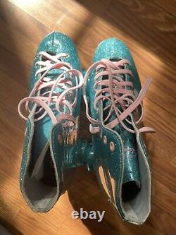 SureGrip roller skates Size 8 (stardust Blue)