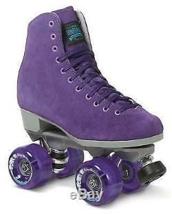 Suregrip Boardwalk Roller Skates Jasmine Purple Size 8