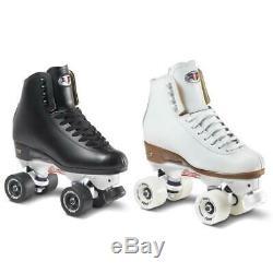 Suregrip Fame Roller Skates White w Avanti Aluminium