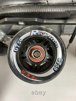 Suregrip ROCK GT50 Indoor/Outdoor Quad Roller Skates Derby Womens Size 6 New