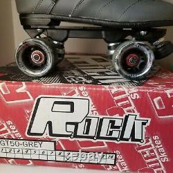 Suregrip ROCK GT50 Indoor/Outdoor Quad Roller Skates New in Box Size 9