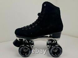 Suregrip Rebel Roller Skates Suede High Top Metal Plate 1300 NEW FREE POST