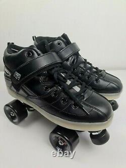 Suregrip Rock GT50 Roller Skate Zen SONAR Wheels Black Derby 8,10 NEW FREE POST