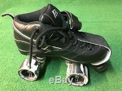 Suregrip Rock Roller Quad Skates Gt-50 Size 7 Black Brand New In Box