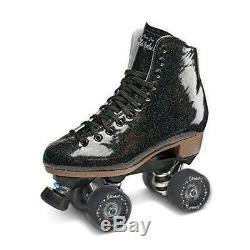 Suregrip Stardust Roller Skates Glitter Black