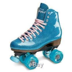 Suregrip Stardust Roller Skates Glitter Blue