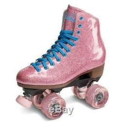 Suregrip Stardust Roller Skates Glitter Pink