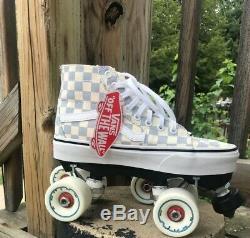 Vans Custom Roller Skates Outdoor Womens 6.5-7