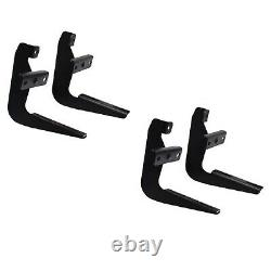 Westin Sure-Grip 72 Running Boards & Mounting Kit for F-150/250 Ext. Cab