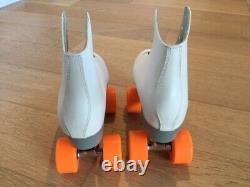 White Suregrip Malibu Roller Skates Women's Size 8
