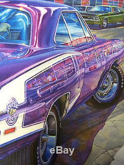 1970 Dodge Super Bee Art M. Norm Grand-spaulding Mopar B Body 440 Sure Grip 727