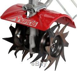 7940 Mantiss 4 Cycle Gas Mini Tiller 25cc Léger Avec Poignées Souples Sure-grip