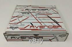 Avenger Skate Plaques Taille 1 Aluminium Quad Patins À Roulettes Sure Grip Da45 Blanc