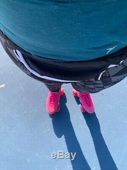 Bien Sûr Boardwalk Grip Patins À Roulettes, Taille 10 Rose Suede (comme Moxi)