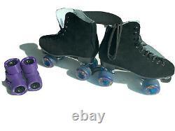 Bien Sûr Grip Roller Skates Taille 13 À Peine Utilisé Comes With 8 Atomic Snap Roues