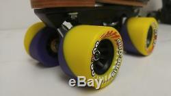 Bien Sûr, Poignée Xl55 Quadruple Vitesse Rouleau Skates- Taille Homme 3 Et Autres Tailles