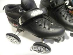 Boxer Skate Avec Quadline 100mm Roues Taille Noir 11