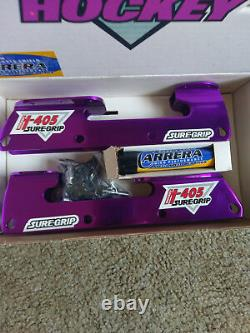 Classique Suregrip H405 Roller Hockey Frames Medium Size Purple Color