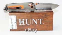 Couteau De Poche Benchmade Hunt Grizzly Ridge Avec Poignée, Poignée Simple, Poignée 15061