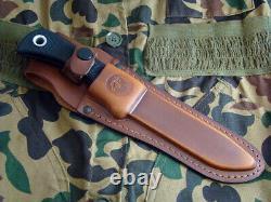 Couteaux D'alaska Knife Alaskan Magnum Hunter Hunting Sheath Deer Elk Dealer