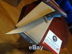 Couteaux De L'alaska 10 1/4 849fg Boar Hunter D2 Outil En Acier Sure Poignée Wow