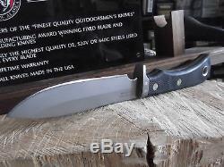 Couteaux De L'alaska 9 1/2 Magnum Alaska D2 Outil En Acier Sûr Poignée # 157fg