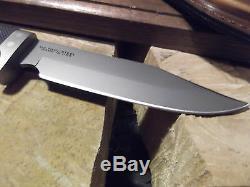 Couteaux De L'alaska 9 1/2 Magnum Wolverine D2 Outil En Acier Sure Grip Poignée 158fg