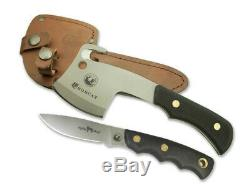 Couteaux De L'alaska Couteau Bobcat Micro Hatchet Alpha Loup Couteau De Chasse Cerf Combo