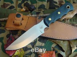 Couteaux De L'alaska Couteau De Chasse Fixe Bush Camp Cerf Camping Ours Bushcraft Silure