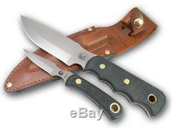 Couteaux De L'alaska Couteau De Chasse Nettoyage Combo Bush Camp Cub Cerfs Communs D'ours Elk Nouveau Sg