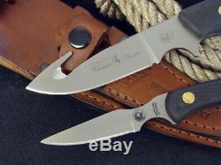 Couteaux De L'alaska Couteau De Chasse Whitetail Combo Ours Cub 199fg Trekker Hunter