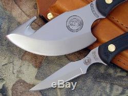 Couteaux De L'alaska Couteau Léger Hunter Combo Chasse Au Cerf Skinner Cleaver Vinaigrette