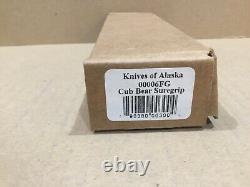 Couteaux De L'alaska Cub Bear Caper Avec Suregrip