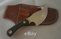 Couteaux De L'alaska Light Hunter Poignée Suregrip 00010fg & Gaine En Cuir