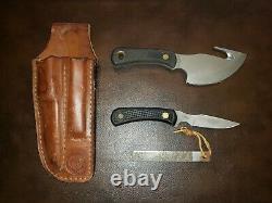Couteaux De L'alaska Lumière Hunter / Cub Combo Kit-suregrip Poignée-satin