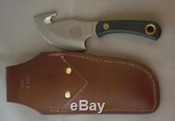 Couteaux De L'alaska Lumière Hunter Suregrip Poignée 00010fg Et Cuir Gaine