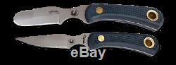 Couteaux De L'alaska Muskrat / Cub Ours Couteaux Combo, Poignée Suregrip, Noir, 00095fg