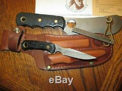 Couteaux De L'alaska Ours Brun / Cub Combo Kit Couteau Suregrip Libérez Le Bateau Made In USA