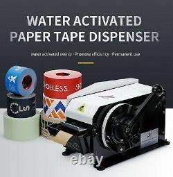 Distributeur De Ruban De Papier Gummed De L'eau Paquet Kraft Scellage Manuel De La Main Mignon