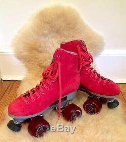 Femmes Cherry Red Sure Skates Roller Grip Taille 6