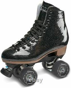 Flambant Neuf Black Stardust Roller Skates Taille Homme 7 (femmes 8)