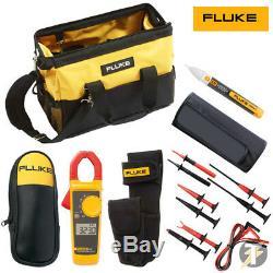 Fluke 323 Pince Kit5t Suregrip Pinces De Test Et Lead Set Plus Le Cas Et Plus